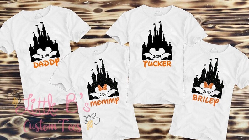 Disney Halloween Shirts Etsy.Disney Halloween Family Shirts Disney Halloween Shirts Matching Disney Family Shirts Castle Shirts Disney World Disneyland Micke