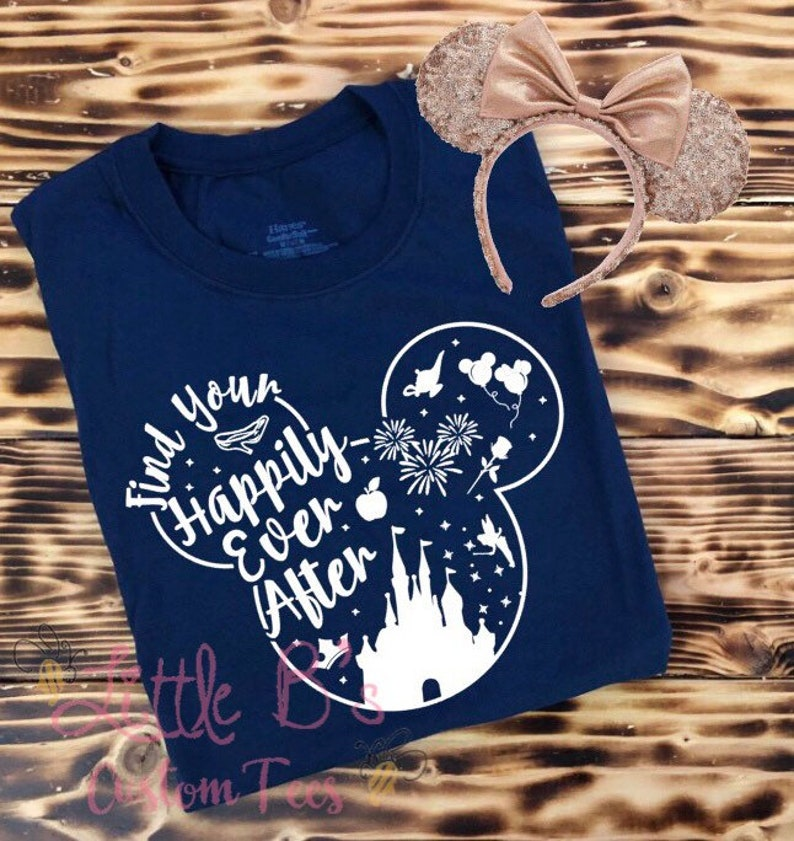f2ddb7b2 Disney Happily Ever After Shirt Disney Shirt Original | Etsy
