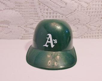 a923d96f52116 Oakland A s Helmet Vintage Stadium Giveaway Baseball Sports Cap Laich