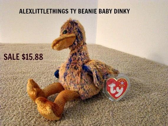 Dinky the Dodo Bird Ty Beanie Babies