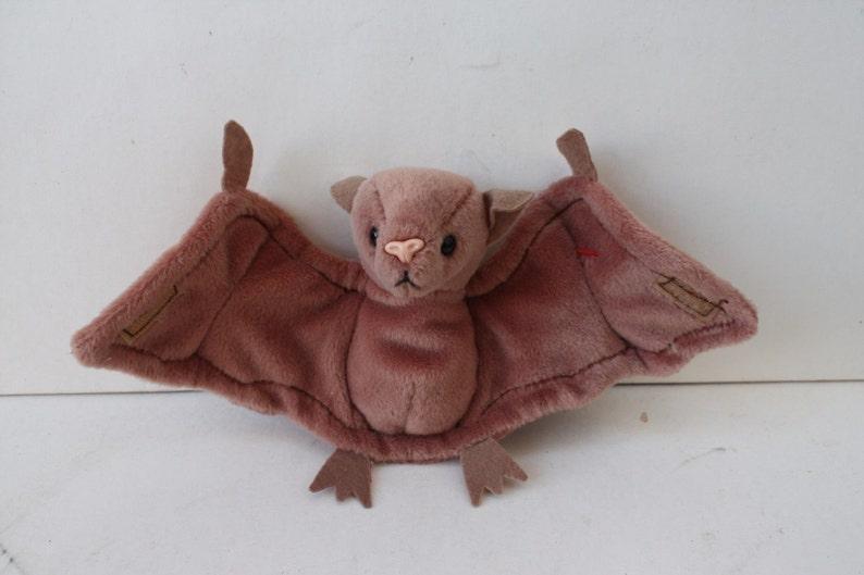 f732fd7980b Ty The Original 1996 Beanie Baby Batty Bat Plush Collectible