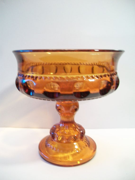 Indiana glass candy dish Antiques US