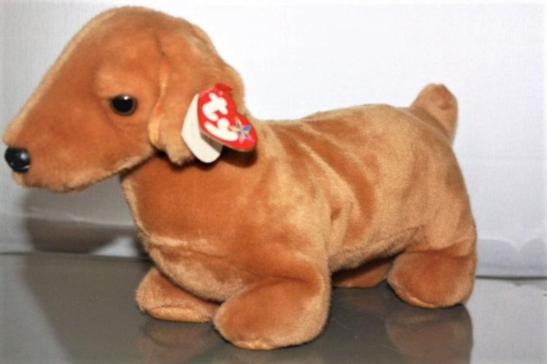 888e4f9a111 Vintage TY Beanie Babies Buddies Weenie Dachshund Weenie Dog