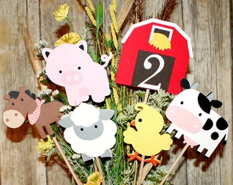 Farm Centerpiece  / Barnyard Party / Farm Theme