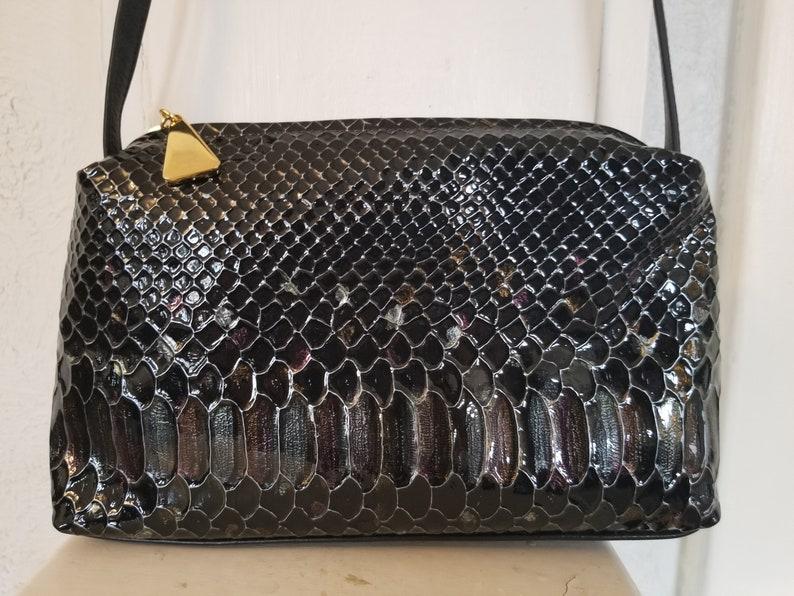 09c14c1d7500 Vintage 1980 s Valerie Jean Leather Purse   Shoulder Bag