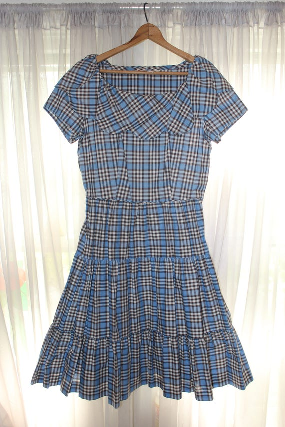 Adorable Vintage 1940's 1950's Betty Barclay Frock