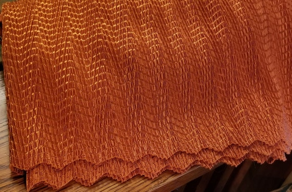 Vintage 1990's Harvest Orange Tan Jay Short Sleev… - image 8