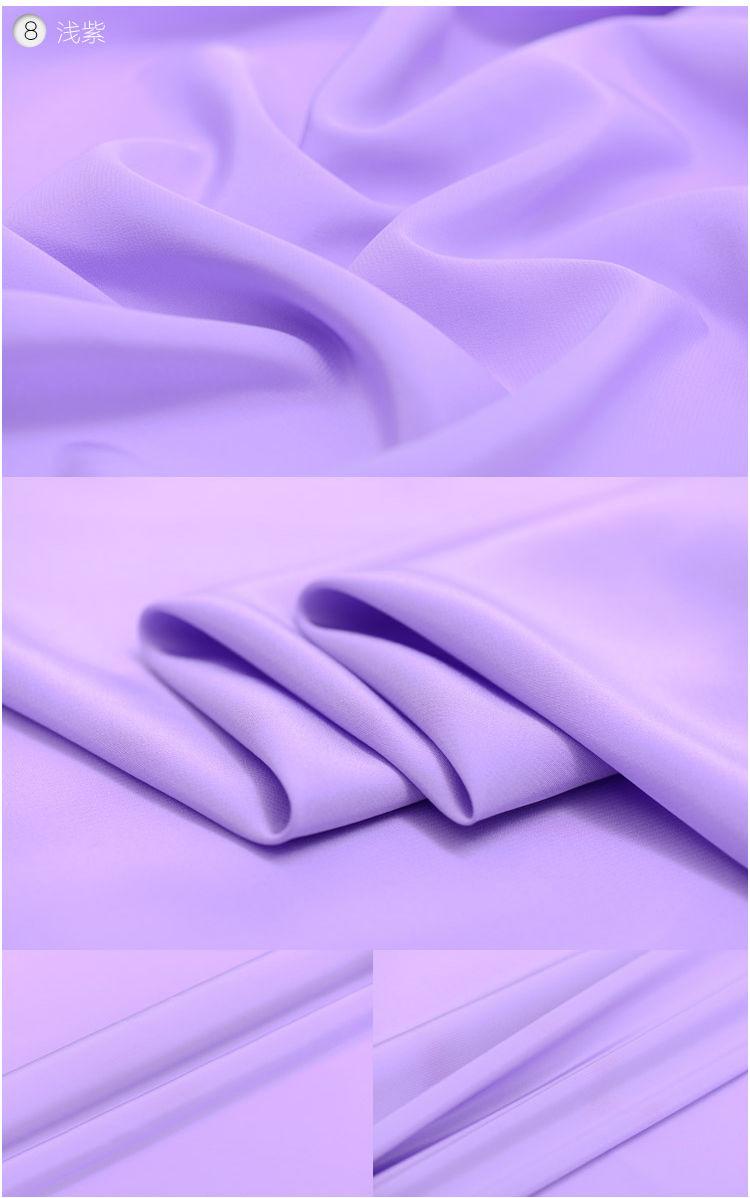 Solide mauve pâle pâle pâle 100 % Dim de As en crêpe de soie tissu de Chine à la verge ou mètre largeur 44 pouces Momme 23 eb8a26