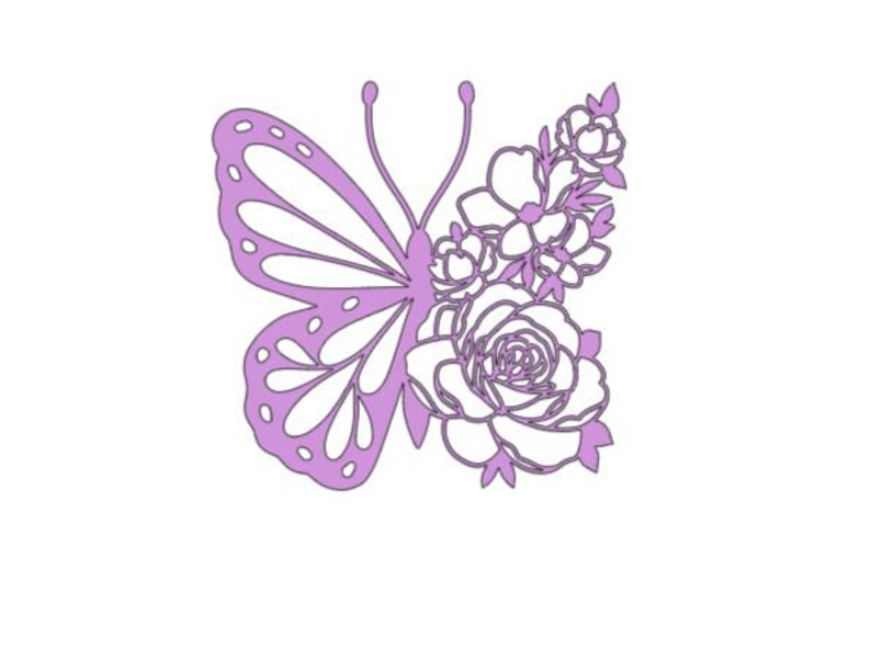 coffee mug window tumbler garden, home decor car phone decal Butterfly and roses permanent decal laptop decal flower sticker