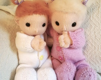 Baby Poppets (including free doll hair tutorial) PDF Downloads