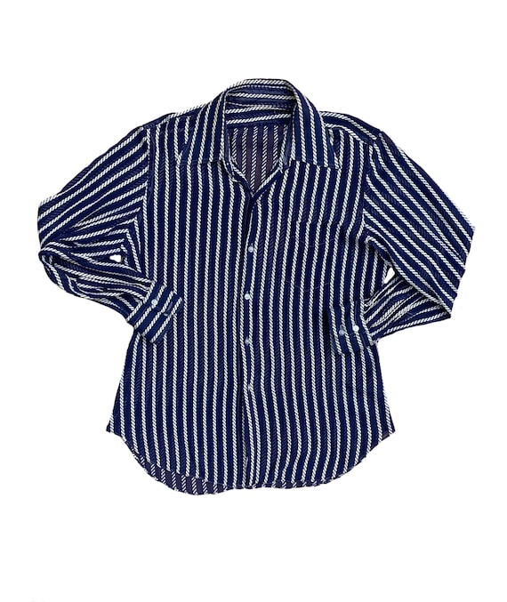 Vintage Ropeable Button-Up Shirt
