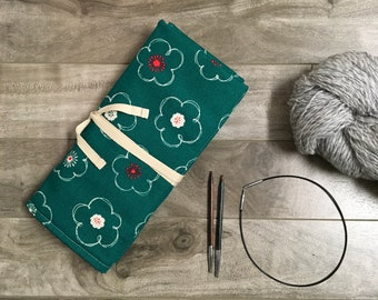 Needle holder / interchangeable needle set / knitting needle storage