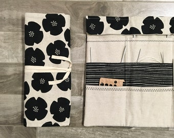 Circular knitting needle organizer / needle holder / needle storage