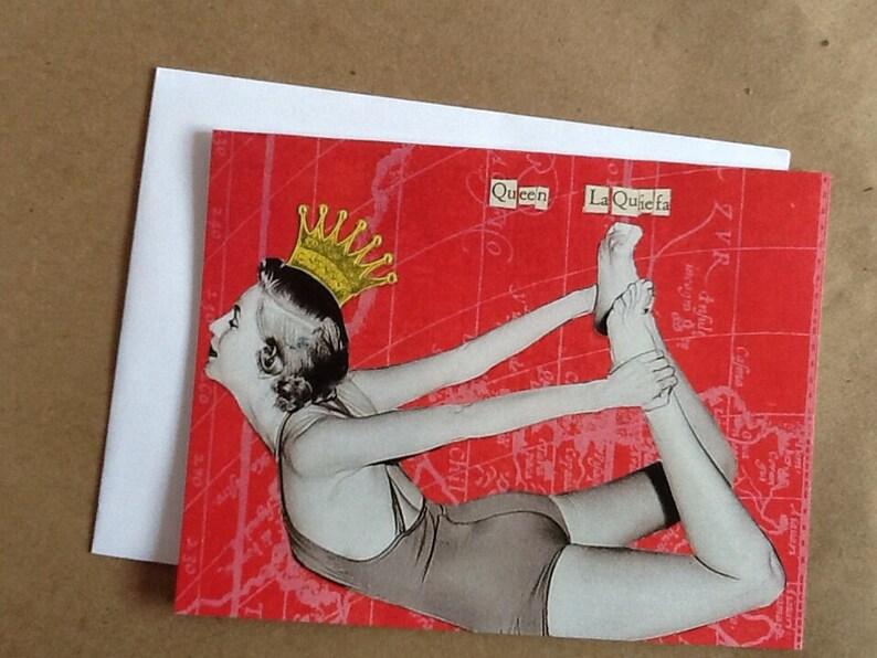 Queen LaQuiefa Single Notecard image 0