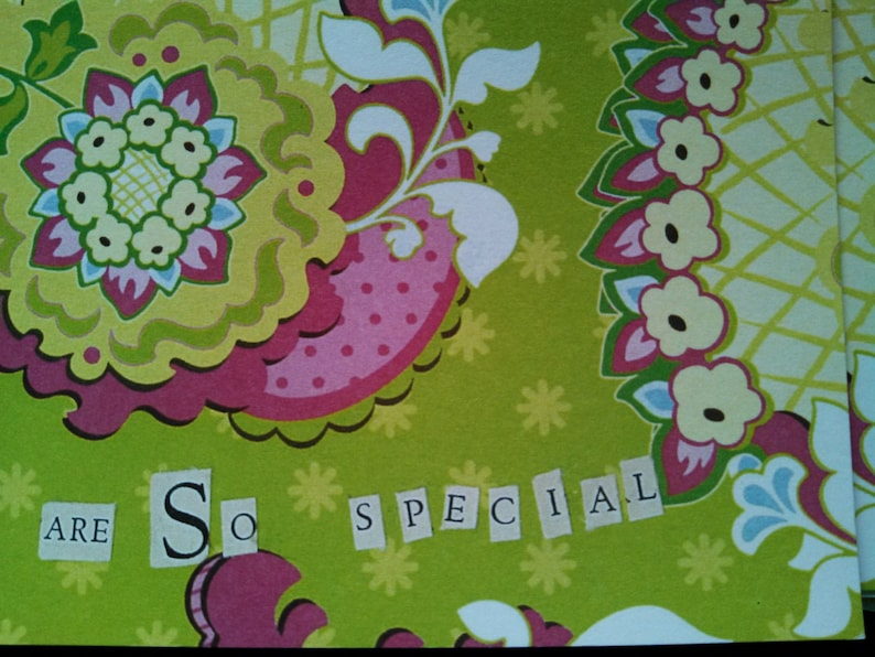 You Are So Special Card Set
