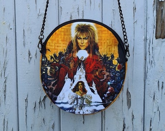 Round Labyrinth Bag - Handbag David Bowie Movie Fantasy Goblin