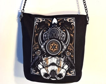 Stormtrooper Samurai Handbag - Waterproof Bag - Recycled Polyester - Star Wars Movie
