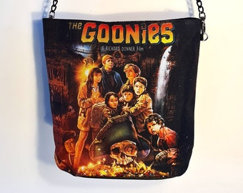 Goonies Handbag - Waterproof Bag - Recycled Polyester - Movie Poster Fantasy Retro