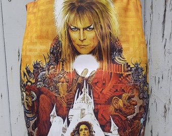 Labyrinth Mini Skirt - Size 8 10 12 14 16 - Movie Bowie Goblin Retro