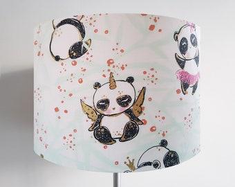 Handmade Panda Unicorn Lampshade