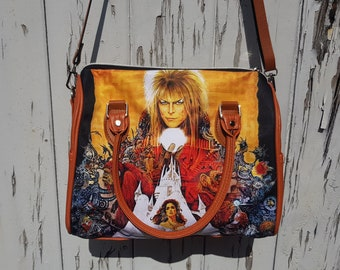 Labyrinth Bag - David Bowie Movie Goblin King Handbag Bowling
