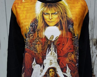David Bowie Labyrinth Sweater - Size 10 12 14 16
