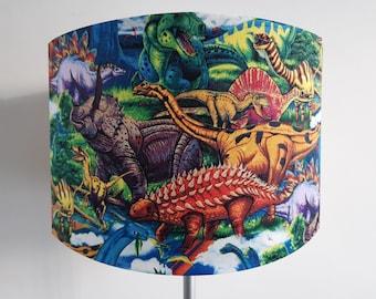 Handmade Dinosaur Lampshade