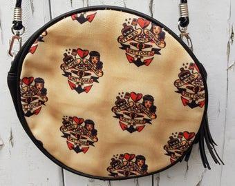 Vintage Stewed Screwed & Tattooed Handbag - Tattoo Sailor Bag Clutch