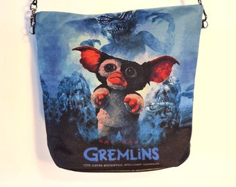 Gremlins Handbag - Waterproof Bag - Recycled Polyester - Christmas Gizmo Movie Poster Fantasy