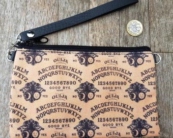 Vintage Ouija Board Purse - Horror Goth Halloween Clutch Bag