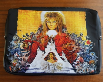 "15"" Labyrinth Laptop Case - David Bowie Movie Goblin King Bag Sleeve"