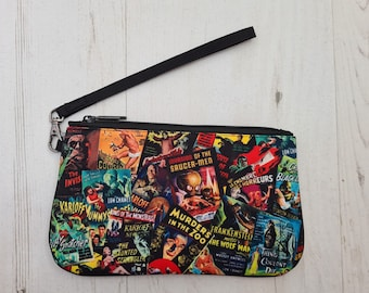 Horror Poster Purse - Scary Vintage Movie Ethical Bag