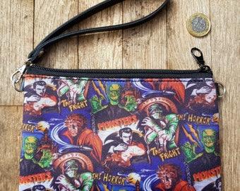Horror Movie Purse - Bag Monster Frankenstein Vampire Zombie Werewolf