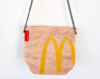 McDonalds Handbag - Waterproof Bag - Recycled Polyester - Fast Food Funny Gift