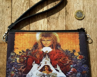 Labyrinth Purse - Bag Movie Poster David Bowie Goblin