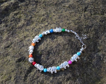 Spiritual Elephant Bracelet - Organic Beach Festival Beach Surf Ethnic World