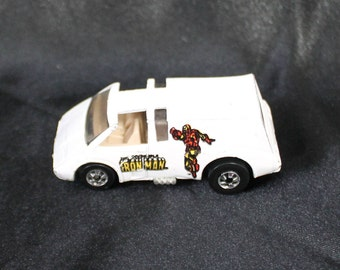 "Hot Wheels ""The Invincible Ironman Car - Mattel 1979 -  Toy Ironman Van - Collectible"