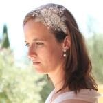 Lace headband, bridal headpiece, wedding headband, hairaccessory, bridal accessory