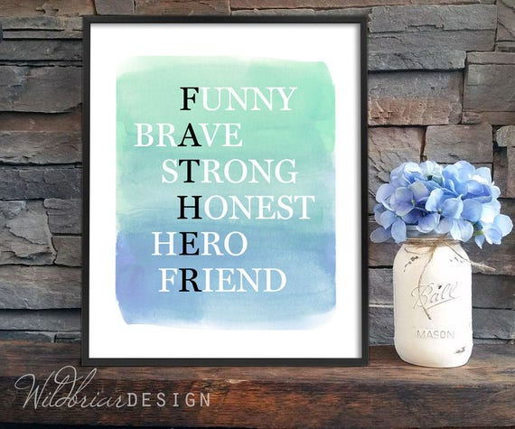 watercolor fathers day printables - 570×475