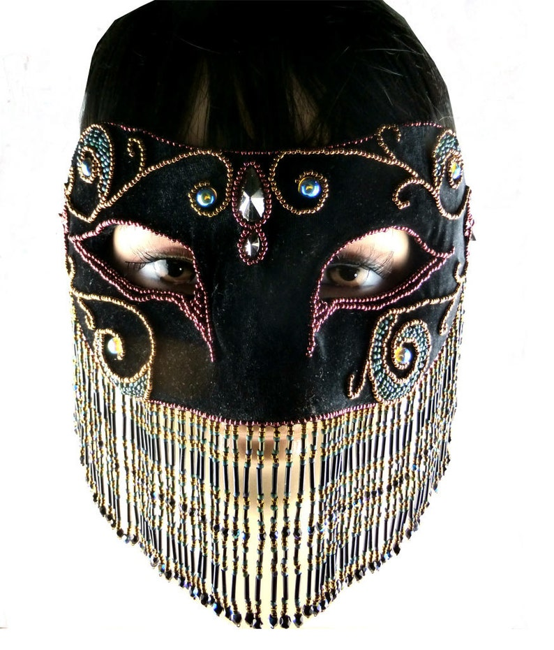 Carnival Mask Fetish Mask Venetian Masquerade
