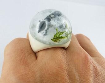 Ring, Finger Ring, Finger Jewelry, Resin