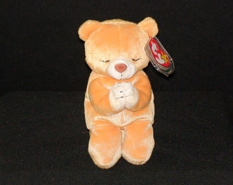 83b9a50e057 Vintage TY Beanie Baby! Hope! Praying Bear! 90 s!