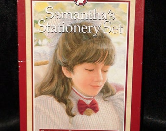 "1990's ""The American Girls Collection""  Samantha's Stationery Set!  Pleasant Company!"
