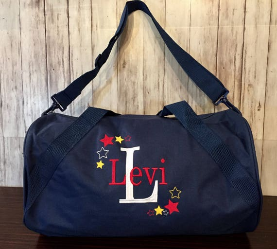 Personalized Kids Duffle bag  Stars duffle  Personalized  1d20e8f704393