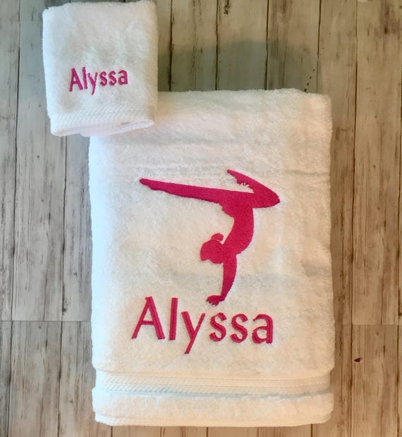DIVER and Personalised Name Embroidered onto Towels Bath Robes Hooded Towel