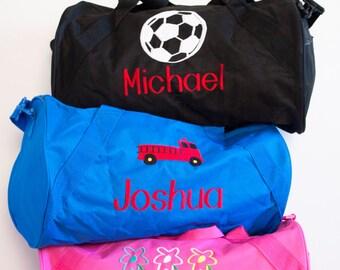 Boys Personalized Duffel Bag/ Soccer Duffle/ Sports Duffle/ Soccer bag/Sports Bag