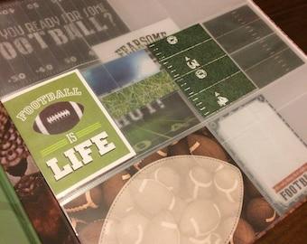 football scrapbook etsy
