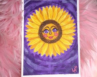Happy Sunflower fine art print