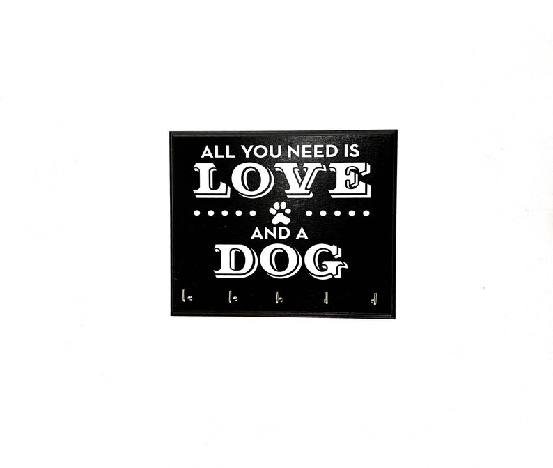 All You Need Is Love And A Dog  Pet Dog Leash or Collar image 0