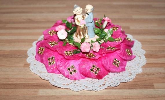 Goldene Hochzeit Kleine Torte